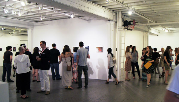Guests attend Photo Camp: The Culture of Now at Aperture Gallery