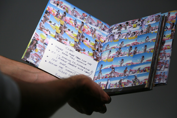 A photobook submitted to the 2012 PhotoBook Awards