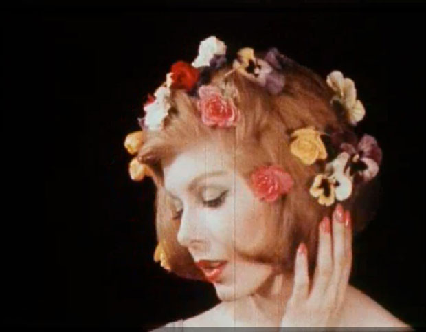 Still from Experiments in Advertising: The Films of Erwin Blumenfeld (1958–64), edited by filmmaker Adam Mufti and sound designer Olivier Alary, 2006