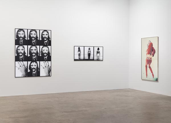 Installation images: Jürgen Klauke: Transformer: Photoworks from the 1970s (installation view, Koenig & Clinton, New York) Photo: Jeffrey Sturges, New York