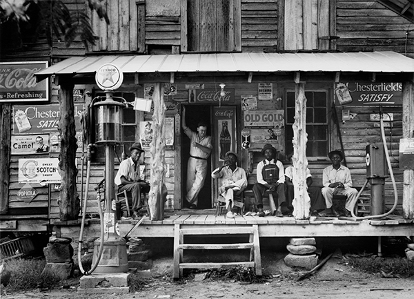 Dorothea Lange, Crossroads General Store, ca. 1938 © The Oakland Museum of California