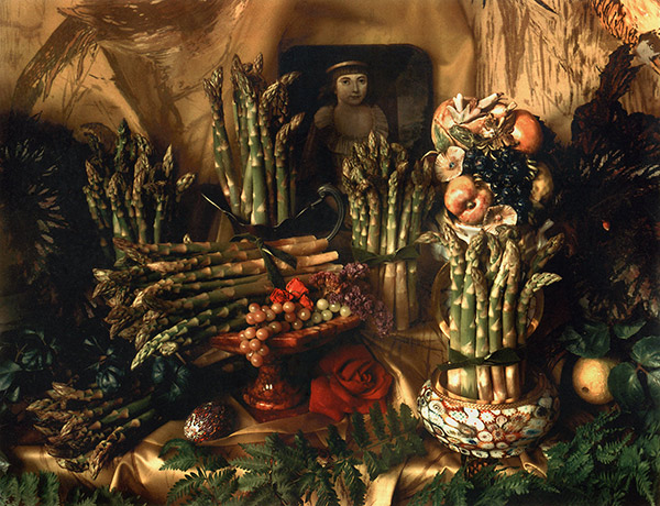 Marie Cosindas, Asparagus 1, 1967 © the artist and courtesy Bruce Silverstein Gallery, New York and Amon Carter Museum, Fort Worth