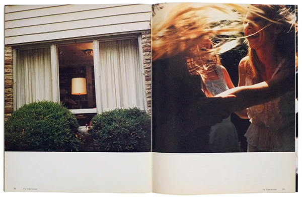 Sofia Coppola and Corinne Day, The Virgin Suicides: A New Generation's Companion to Film, vol. 1, no. 1, American Zoetrope, 1999