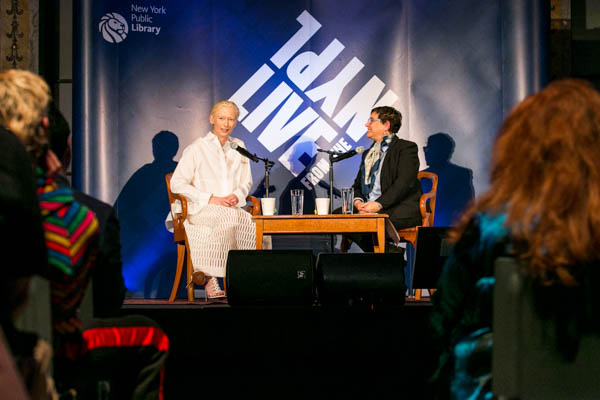 Tilda Swinton in conversation with B. Ruby Rich