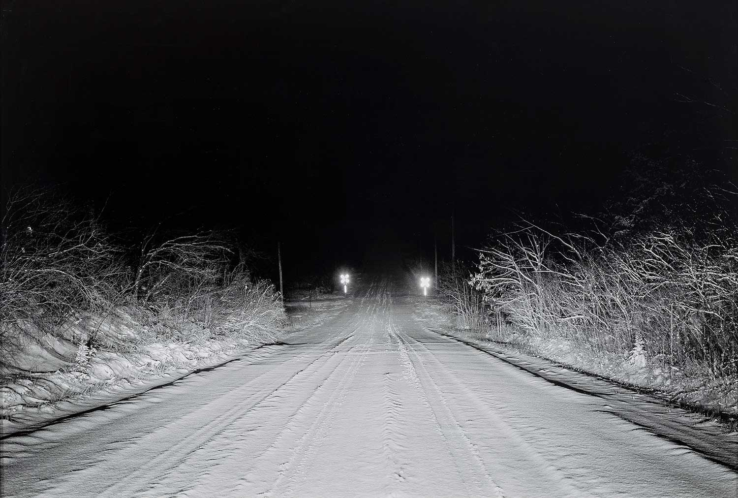 Christian Patterson ,24th Street Road (Road at Night), 2007