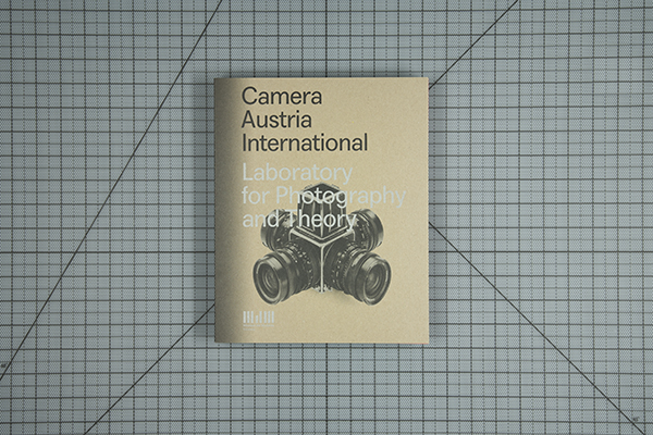 Cover, Museum der Moderne Salzburg, Camera Austria International: Laboratory for Photography and Theory (Spector Books) Leipzig, Germany
